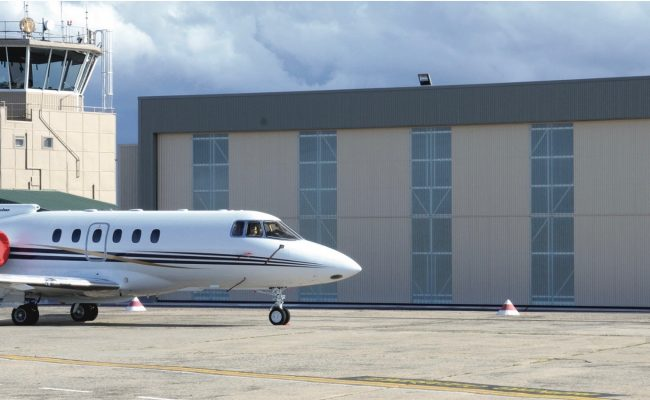 airport hangar doors