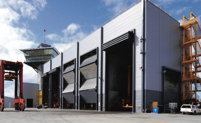 steel-4-leaf-fold-up-doors