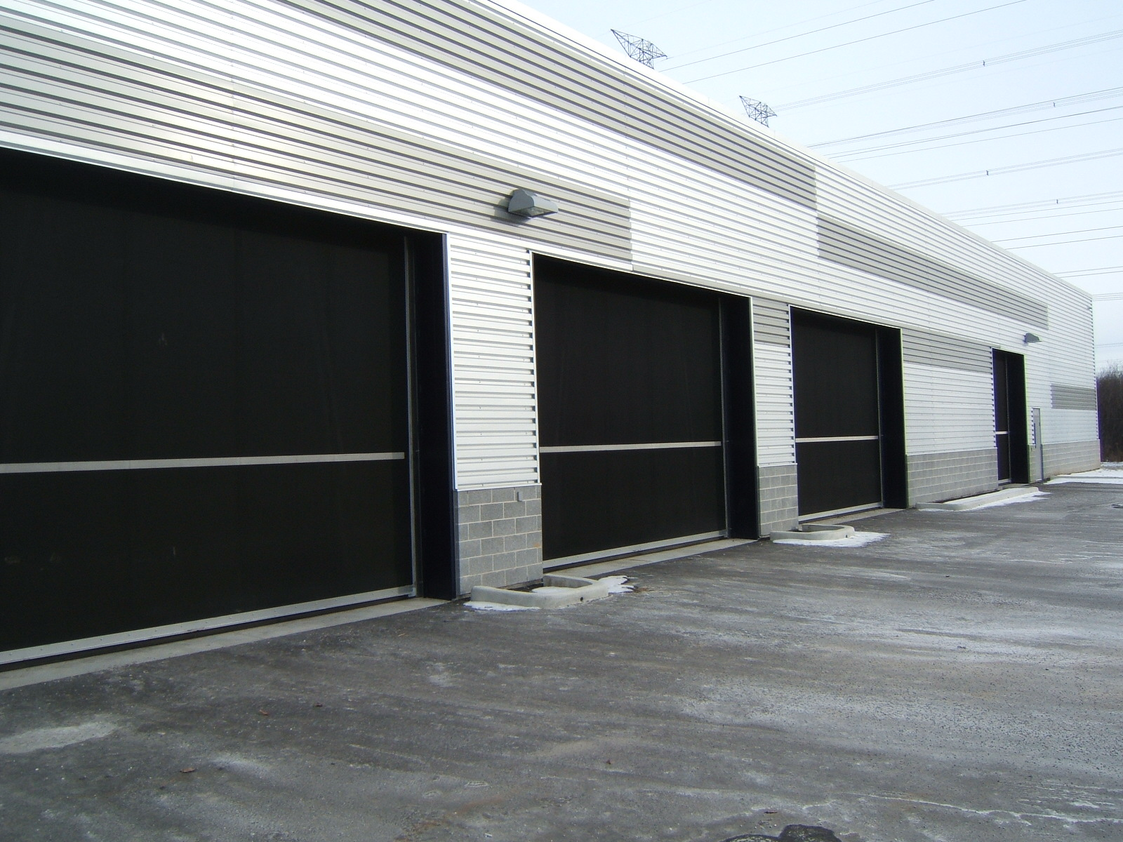 Counter-weight doors - 3rd Generation Doors