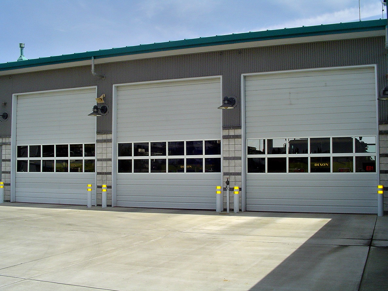 Sectional door steel commercial and industrial rd