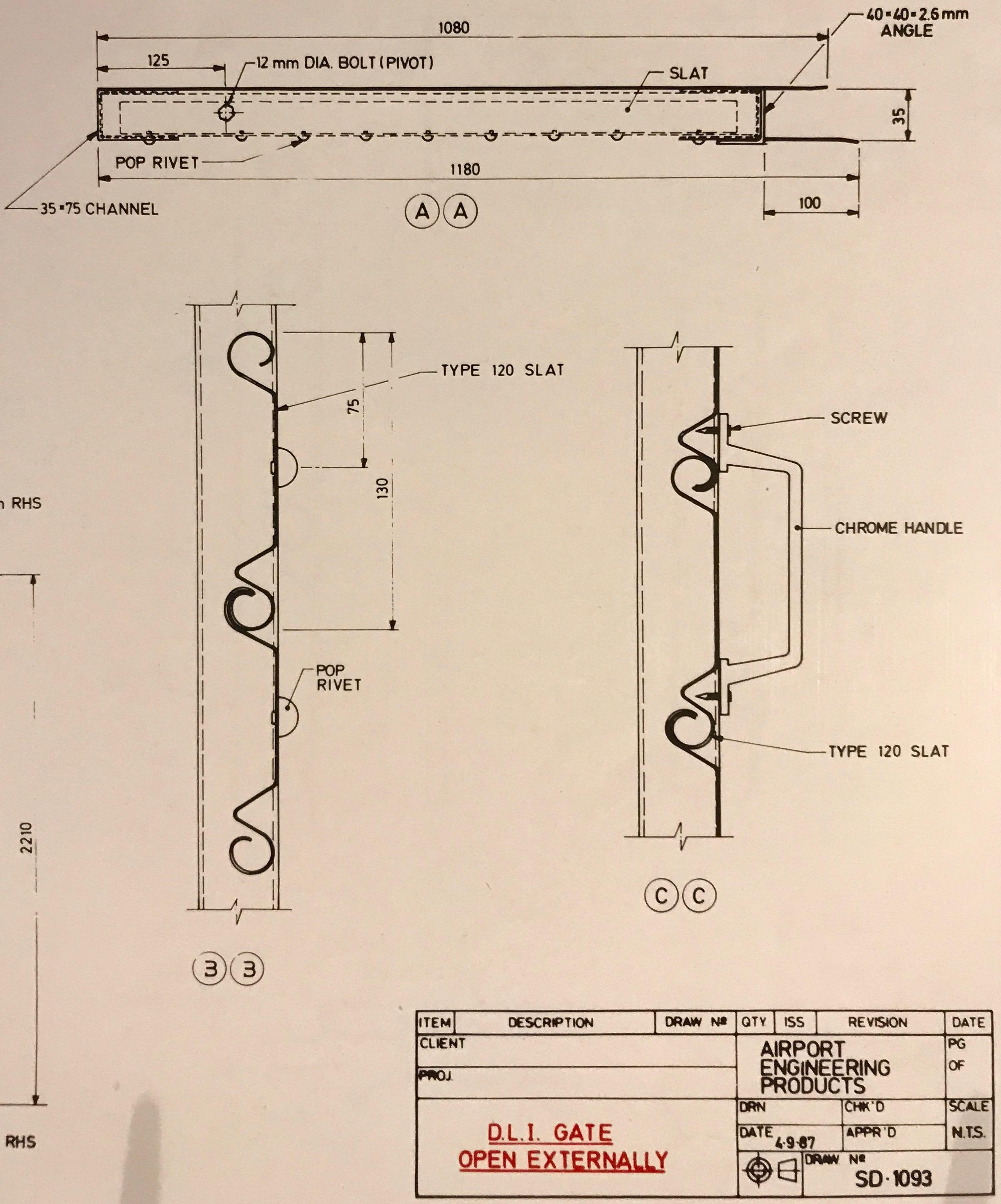 Vertical lift doors - 3rd Generation Doors