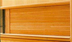 timber roller shutter door 2