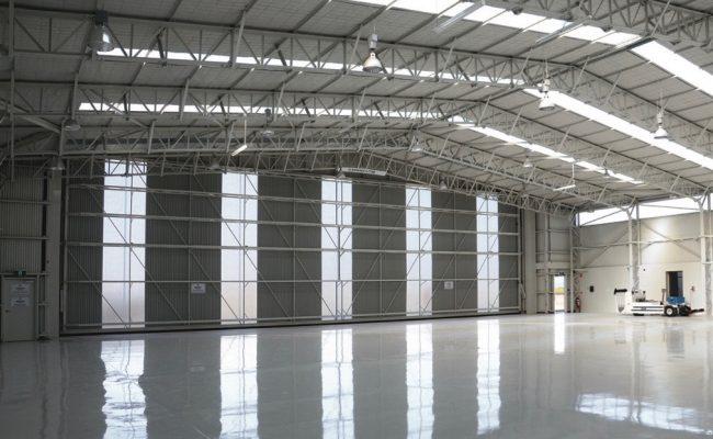 Internal Hangar 8 Hangar Door